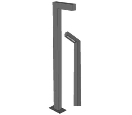 Светодиодная опора 4 м. 40 Вт (5200 Лм)